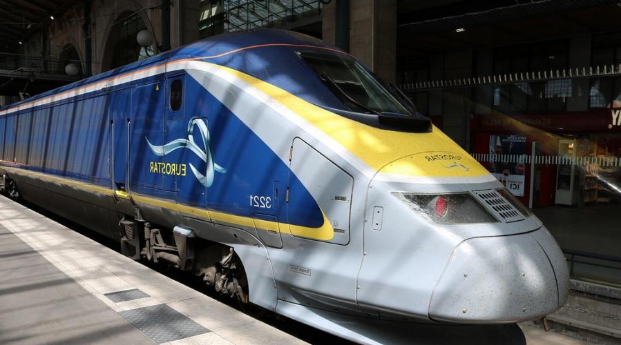euro star train